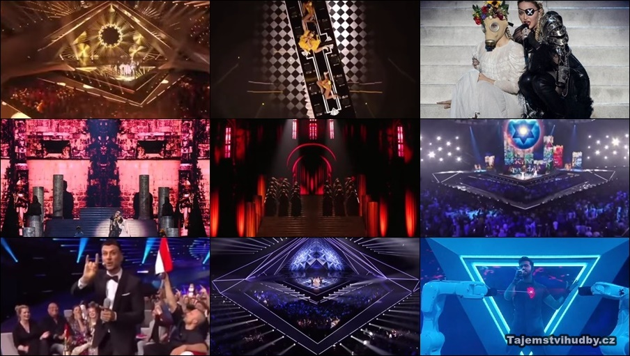 Eurovision 2019 - zednářsko-satanský rituál